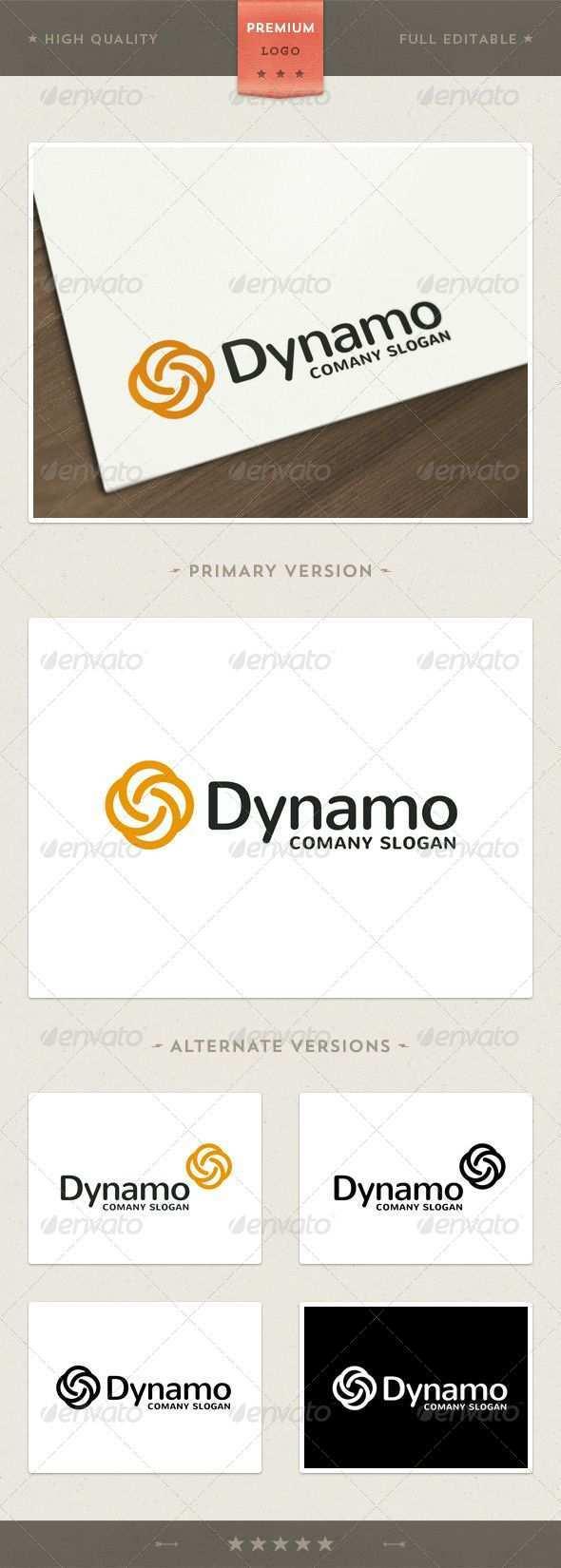 Dynamo Logo Templates Logos Logo Design Template