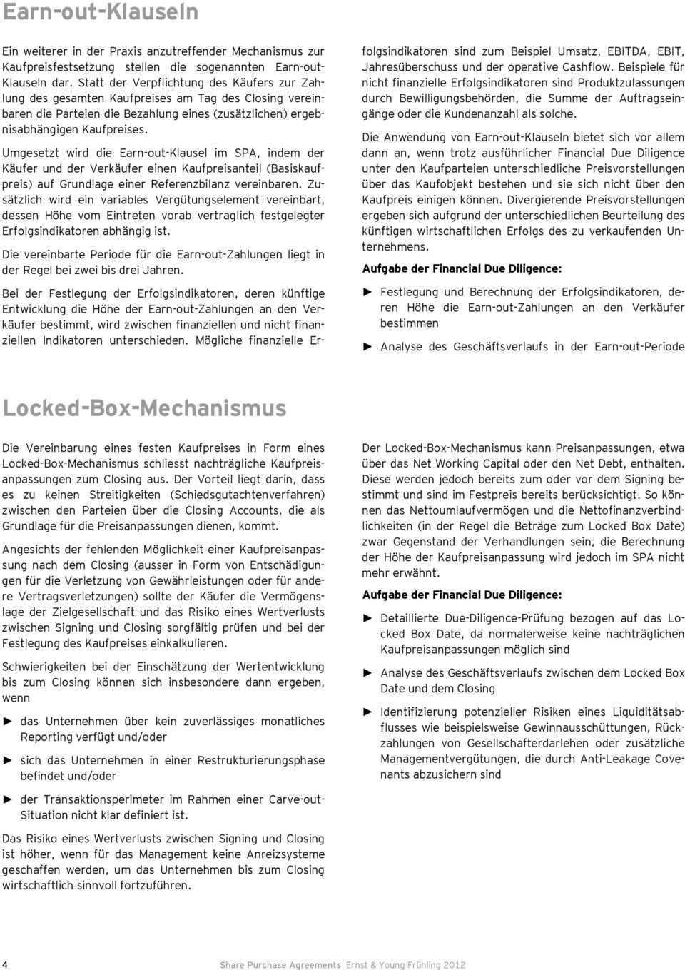 Share Purchase Agreements Gangige Kaufpreismechanismen Und Aktuelle Entwicklungen In Der Praxis 2 Auflage Pdf Kostenfreier Download