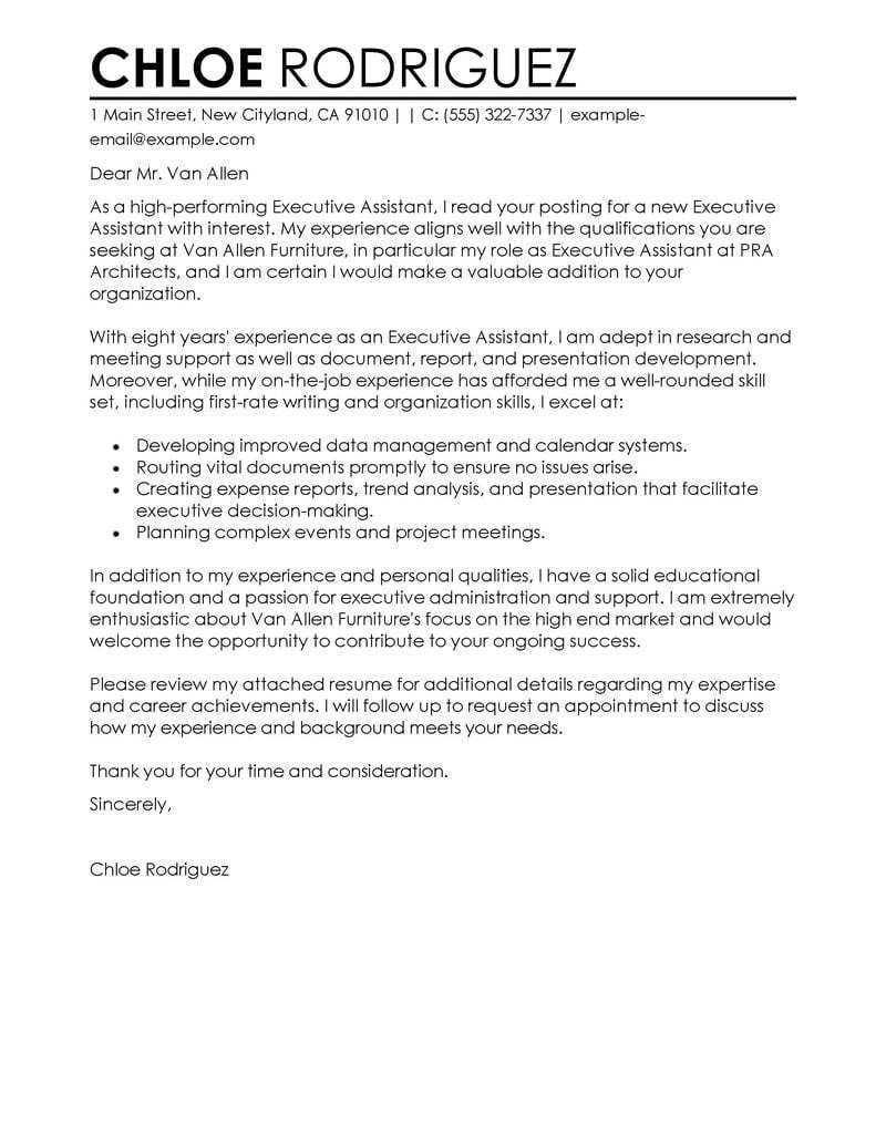 25 Sample Cover Letter For Administrative Assistant Cover Letter For Resume Administrative Assistant Cover Letter Resume Cover Letter Examples