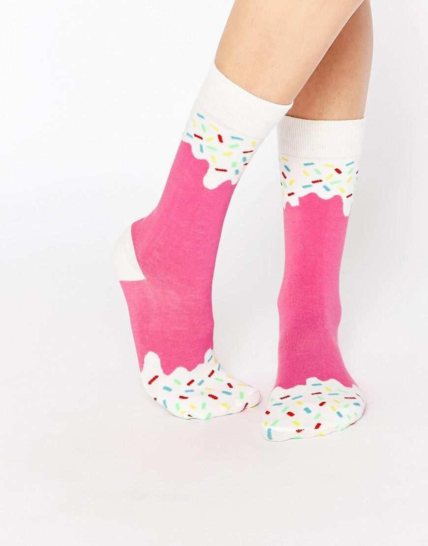 Doiy Strawberry Ice Pop Socken Asos Socken Hubsche Socken Verruckte Socken