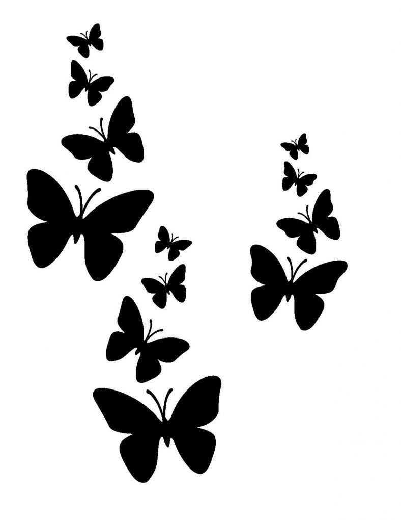 Druckbare Schablonen Mit Einfachem Design Druckbare Schablonen Schmetterling Design Arrowtattoo Desig In 2020 Druckbare Schablonen Schablone Designs Schablonen