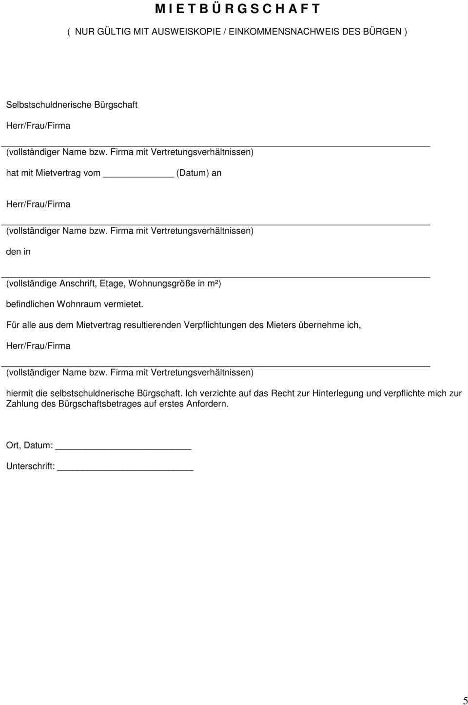 1 Einkommensnachweise Der Letzten 3 Monate Verdienstnachweise Rentenbescheide Burgschaften Pdf Free Download