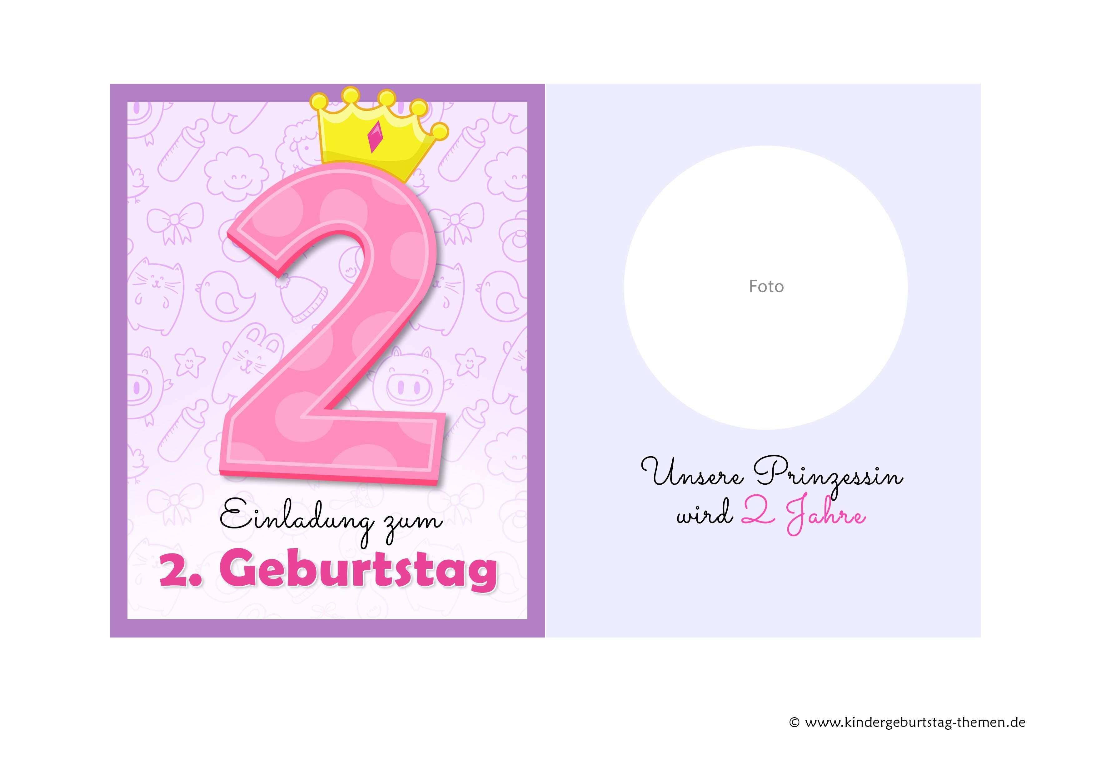 Einladung 2 Geburtstag Originelle Vorlagen Zum Herunterladen Einladung Geburtstag Einladungskarten Geburtstag Einladungskarten Kindergeburtstag