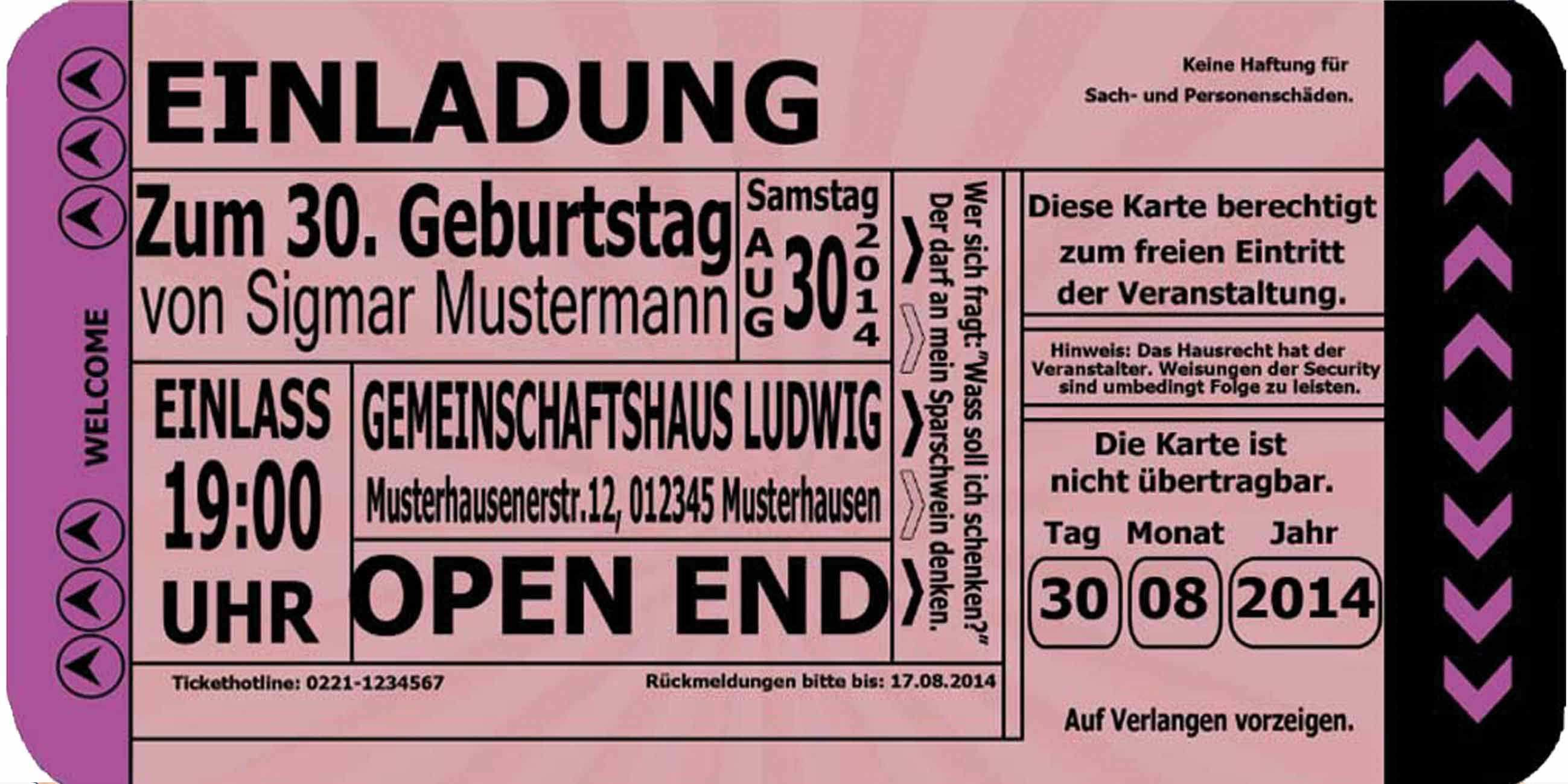 Einladungen Geburtstag 50 Vorlagen Kostenlos Geburtstag Einladung 70th Birthday Invitations Birthday Invitation Templates Invitation Card Design