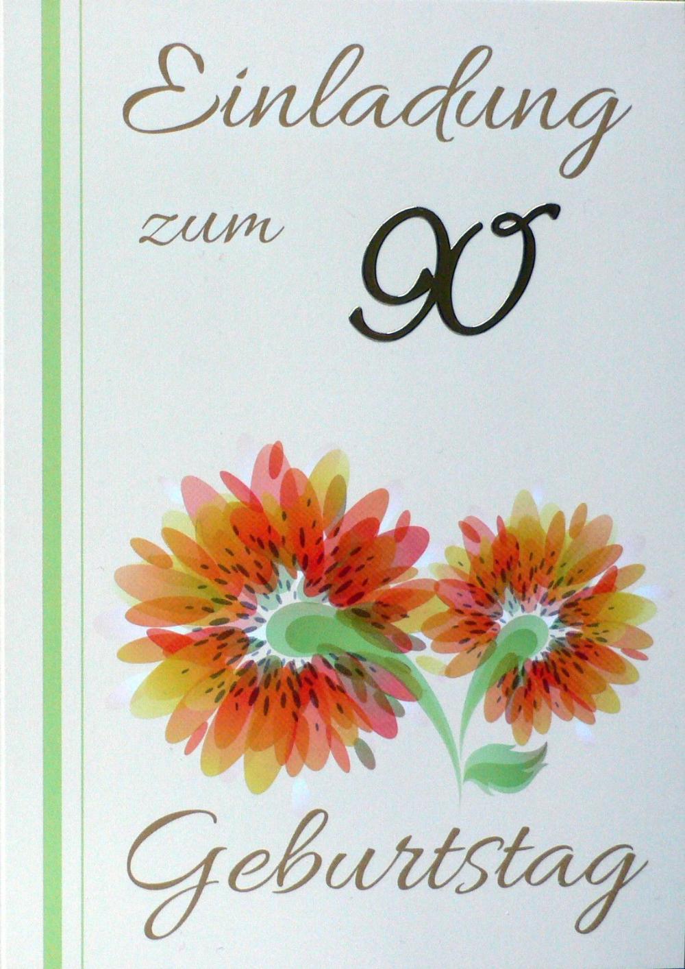 Einladung Geburtstag Einladungskarten 90 Geburtstag Geburstag Einladungska Einladung Geburtstag Einladungen Zum 90 Geburtstag Spruche Einladung Geburtstag