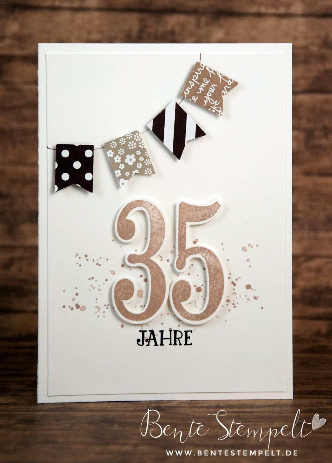 So Viele Jahre Dienstjubilaum Stampin Up Karten Geburtstag Karten Basteln Karten Zum Jahrestag
