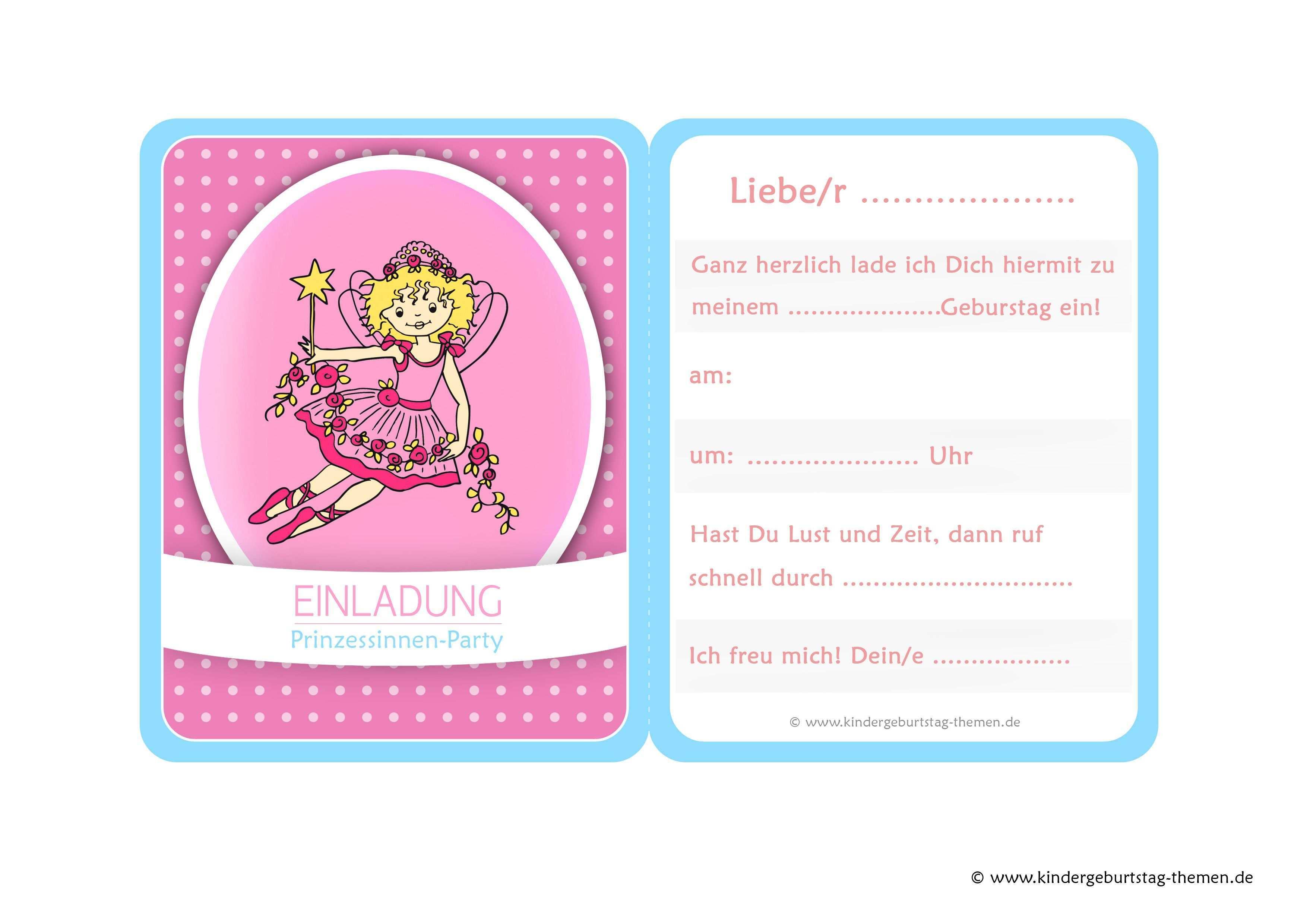 Prinzessin Einladung Vier Kostenlose Vorlagen Zum Ausdrucken Einladung Kindergeburtstag Kostenlos Einladungskarten Kindergeburtstag Einladung Kindergeburtstag