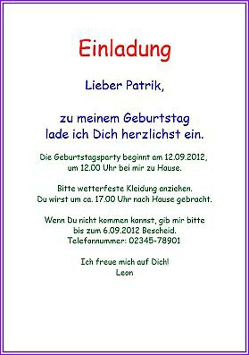 Einladungskarten Geburtstag Einladungskarten Geburtstag Texte Einladun Einladung Kindergeburtstag Text Einladung Geburtstag Text Einladung Kindergeburtstag
