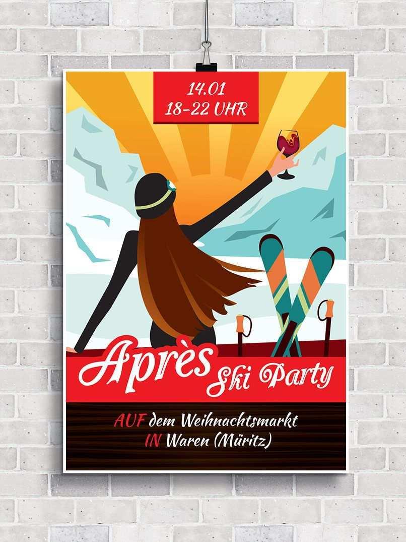 Flyer Vorlagen Fur Apres Ski Party Und Huttengaudi Flyer Vorlage Apres Ski Party Gaudi