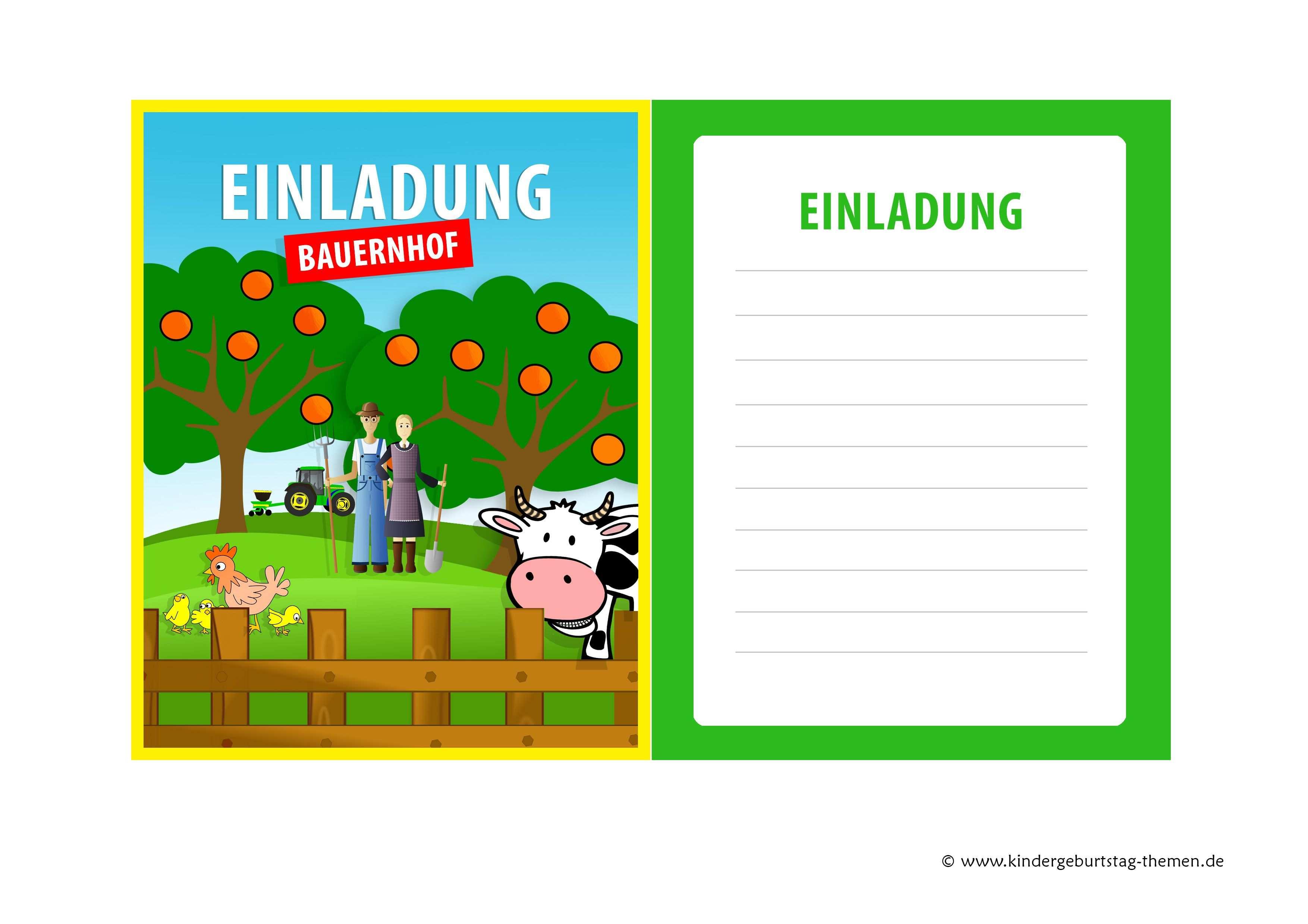 Einladung Kindergeburtstag Bauernhof Kostenlose Geburtstagskarten Zum Runterladen Und Ausdrucken Einladungskarten Geburtstag Kostenlos Geburtstag Einladung Vorlage Einladung Kindergeburtstag