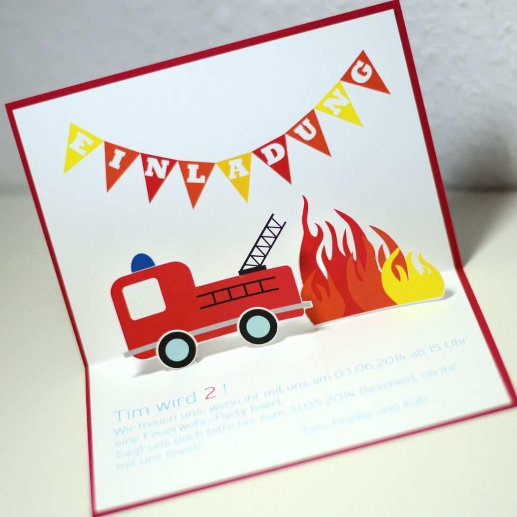 Einladung Kindergeburtstag Feuerwehr Vorlage Einladung Kindergeburtstag Einladung Kindergeburtstag Basteln Feuerwehr Einladungskarten Kindergeburtstag