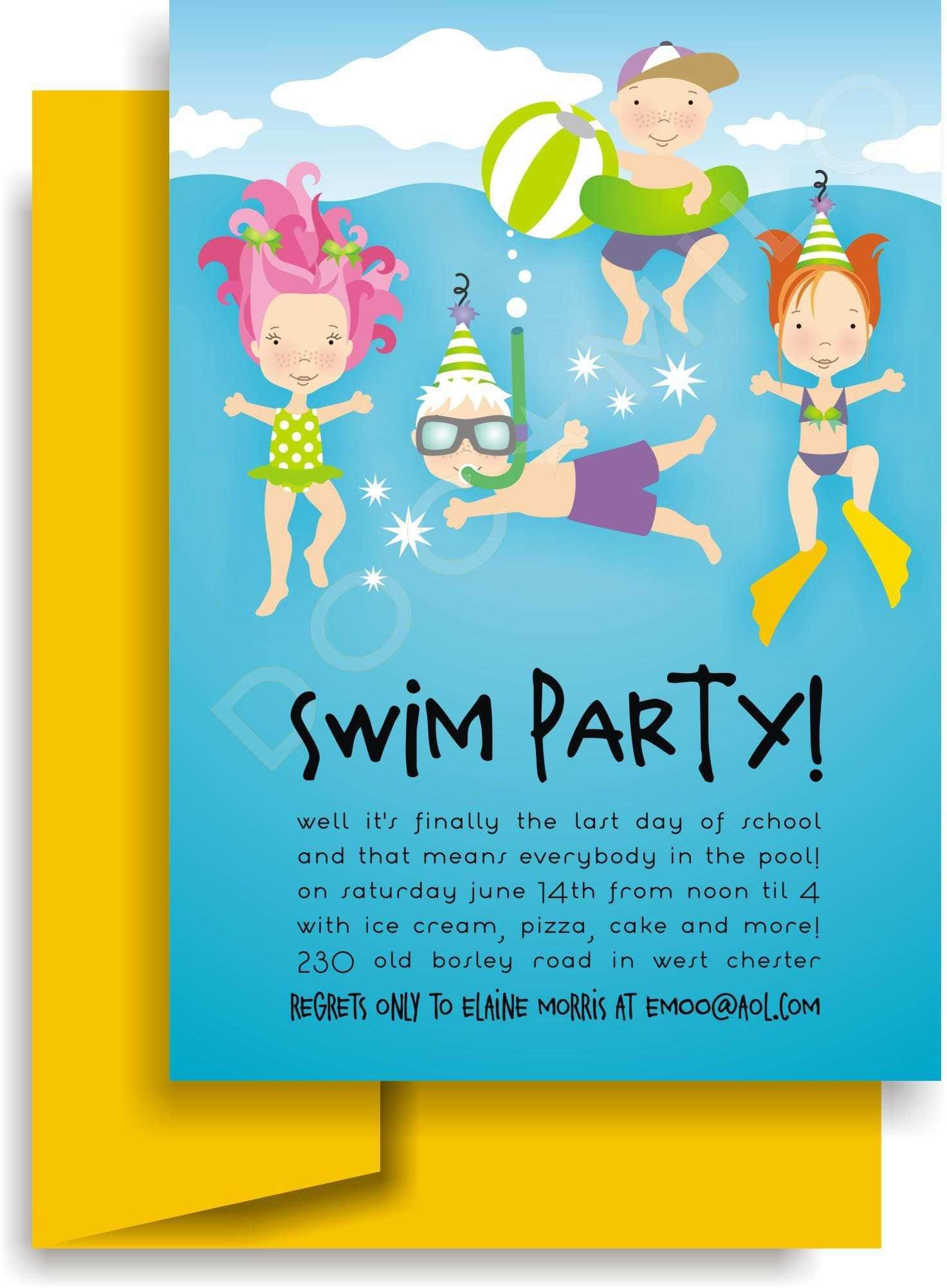 Einladung Kindergeburtstag Schwimmbad Vorlage Einladungskarten Kindergeburtstag Einladung Kindergeburtstag Einladungskarten Kindergeburtstag Basteln