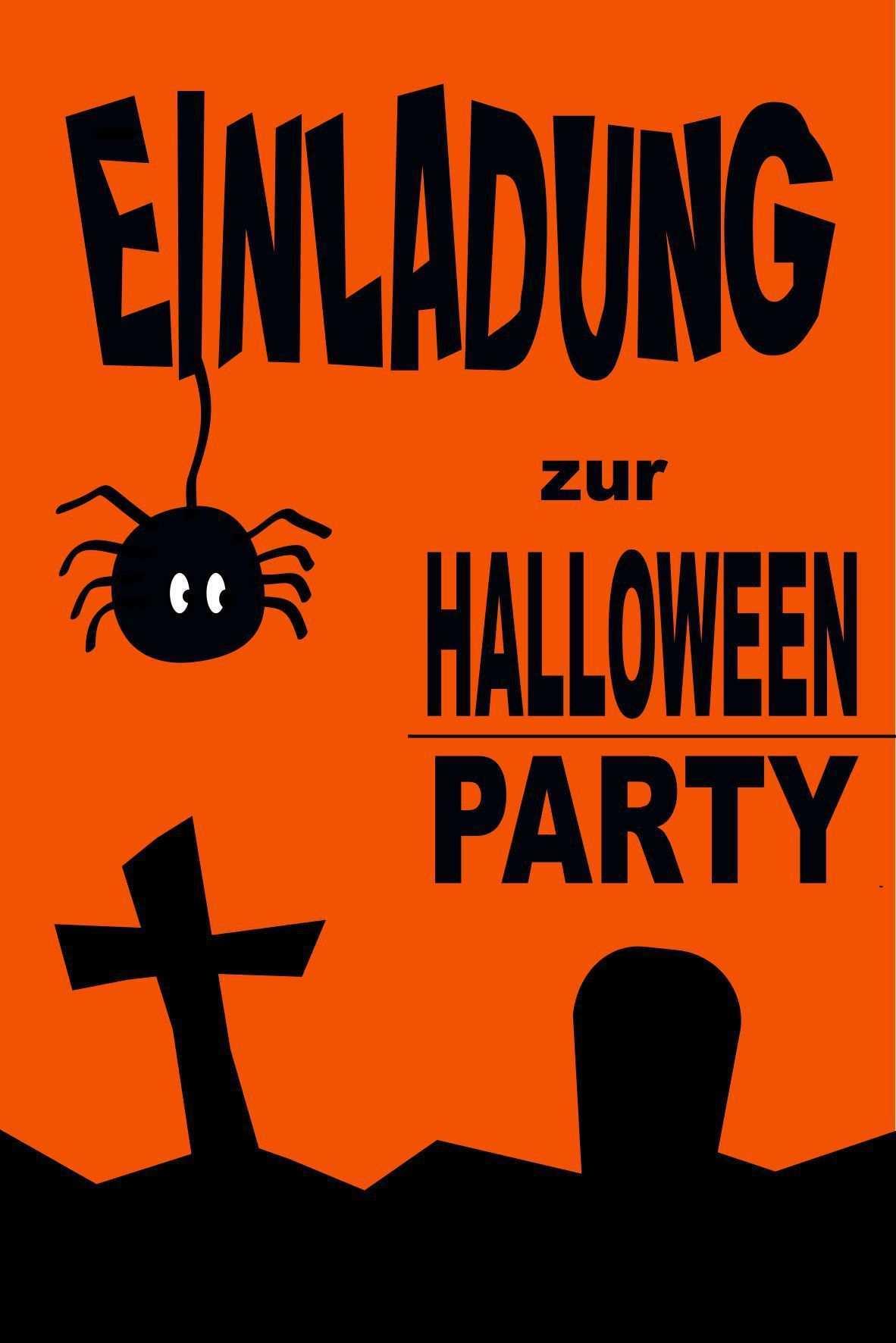 Einladungen Geburtstag Vorlagen Kostenlos Downloaden Halloween Einladung Einladungen Einladungen Ubernachtungsparty