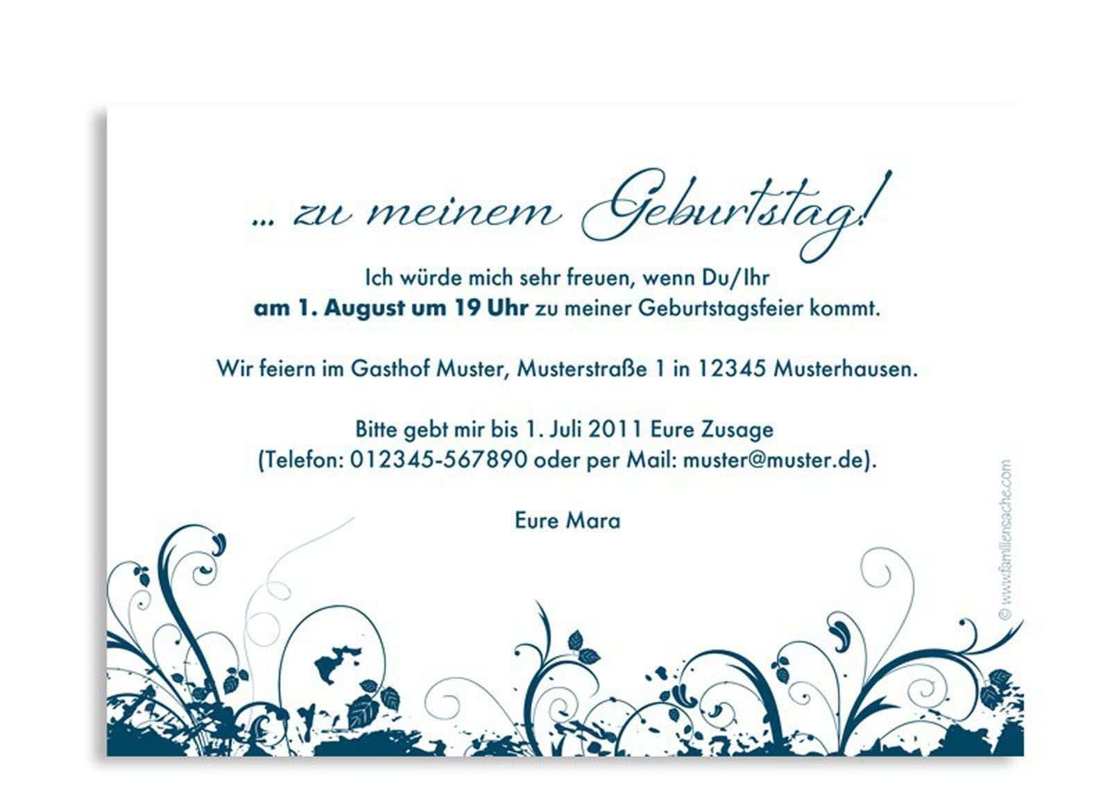 Einladungskarten Geburtstag Einladungskarten Geburtstag Texte Einladung Zum Geburtstag Einladung Zum Geburtstag