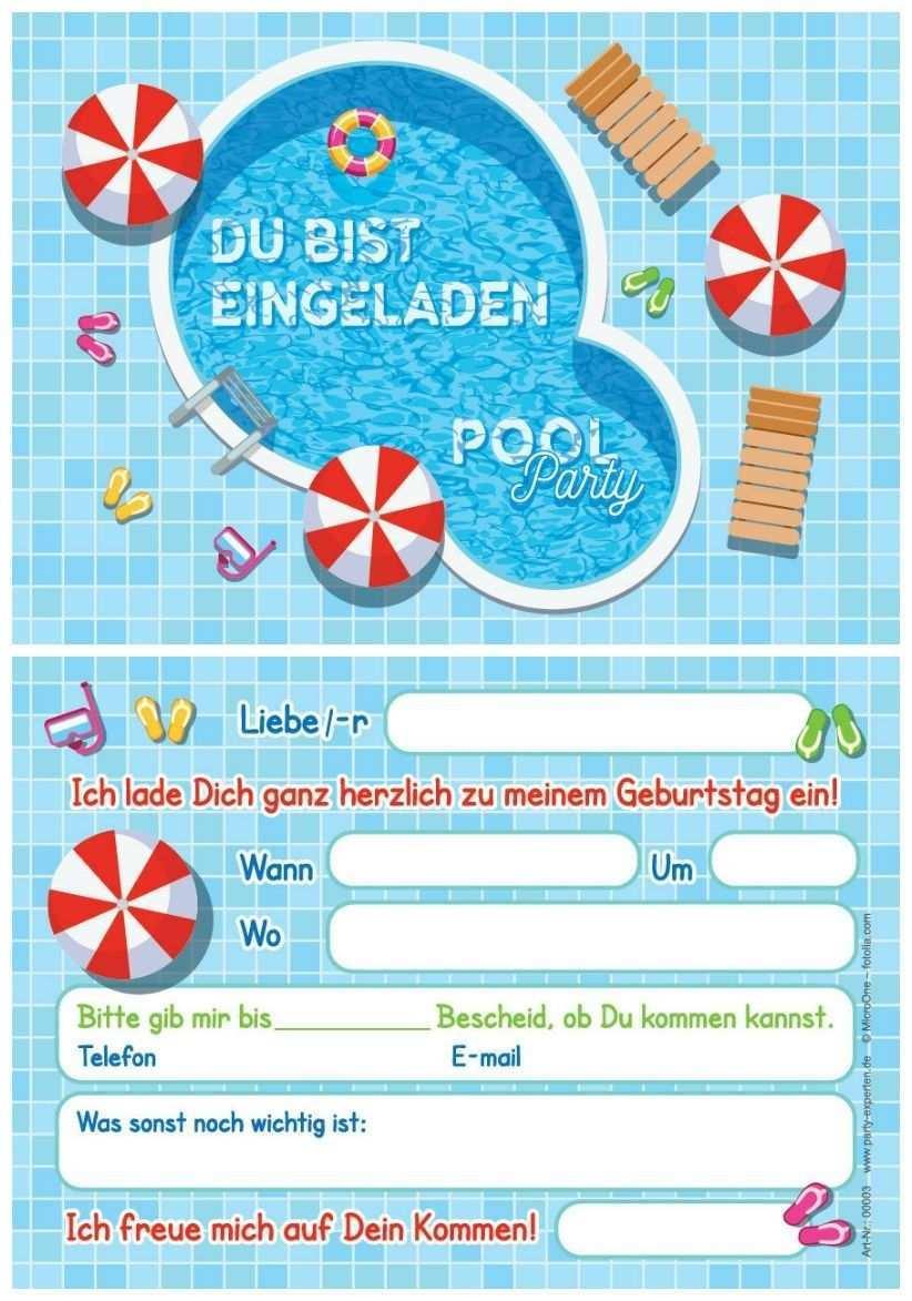 Geburtstagseinladung Poolparty Trending 2020 Einladungskarten Kindergeburtstag Einladung Kindergeburtstag Einladung Kindergeburtstag Kostenlos
