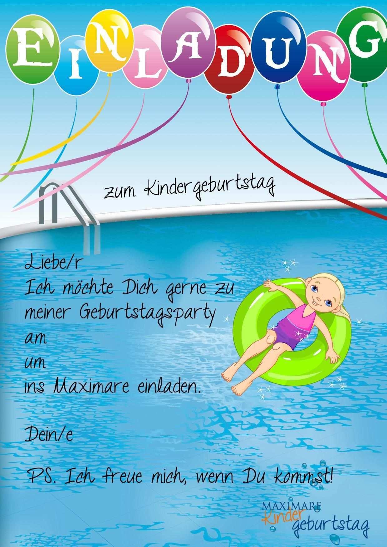 Einladungskarten Kindergeburtstag Basteln Schwimmbad Einladungskarten Kindergeburtstag Einladung Kindergeburtstag Kostenlos Einladung Kindergeburtstag