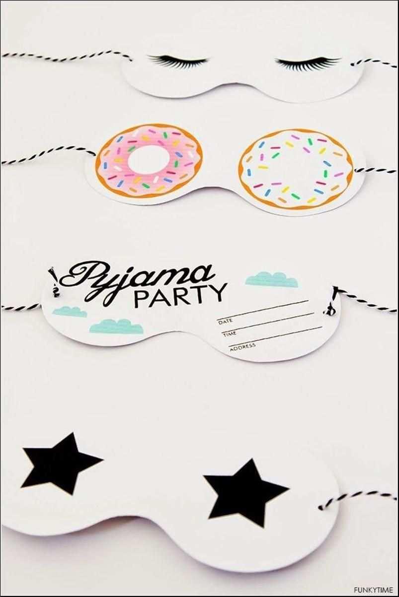 Einladung Ubernachtungsparty Kindergeburtstag Basteln Einladung Ubernachtungspart Einladungen Ubernachtungsparty Einladung Pyjamaparty Kindergeburtstag Basteln