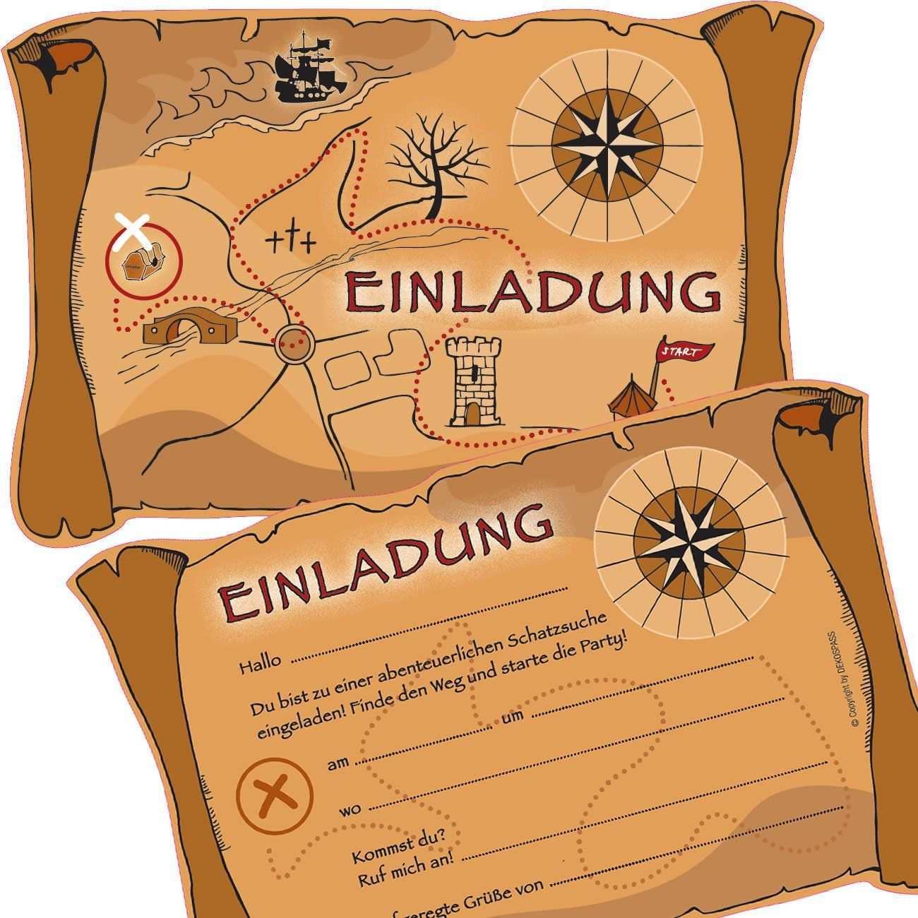 Bot Check Schatzsuche Kindergeburtstag Kindergeburtstag Einladungskarten Kindergeburtstag