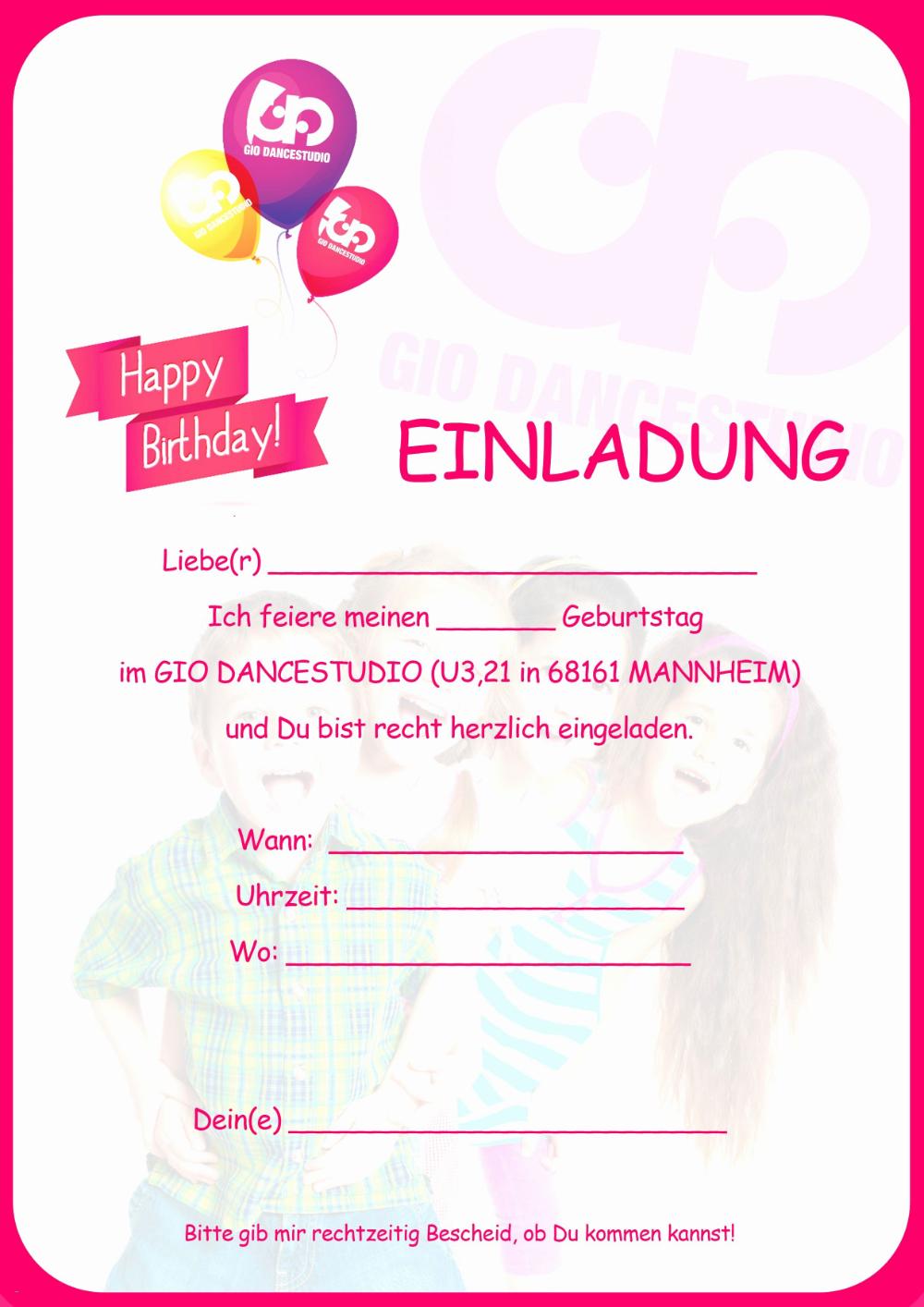 Einladungskarten Geburtstag Einladung Vorlage Einladung Insparadies Einladung Insparadies