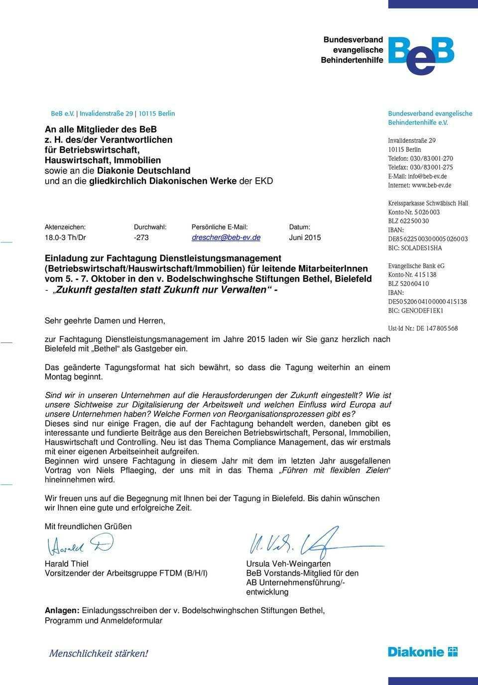 Wir Laden Sie Herzlich Zur Diesjahrigen Fachtagung Dienstleistungsmanagement Nach Bielefeld Ein Pdf Kostenfreier Download