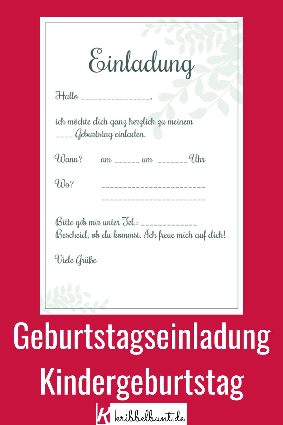 Einladungsvorlagen Zum Kindergeburts Einladungskarten Kindergeburtstag Zum Ausdrucken Einladungskarten Kindergeburtstag Geburtstagseinladungen Kindergeburtstag