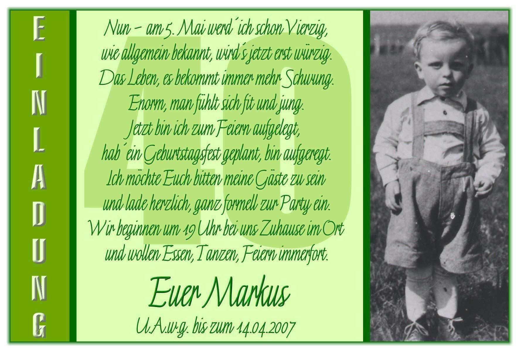 Einladungen 40 Geburtstag Vorlagen Kostenlos Zum Ausdrucken Einladung Geburtstag Einladung 40 Geburtstag Einladungskarten Geburtstag