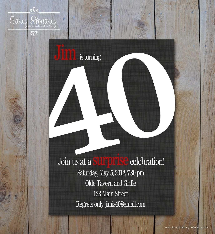 Einladungen 40 Geburtstag Kostenlos Download Einladung 40 Geburtstag Einladung Geburtstag Einladungskarten 40 Geburtstag