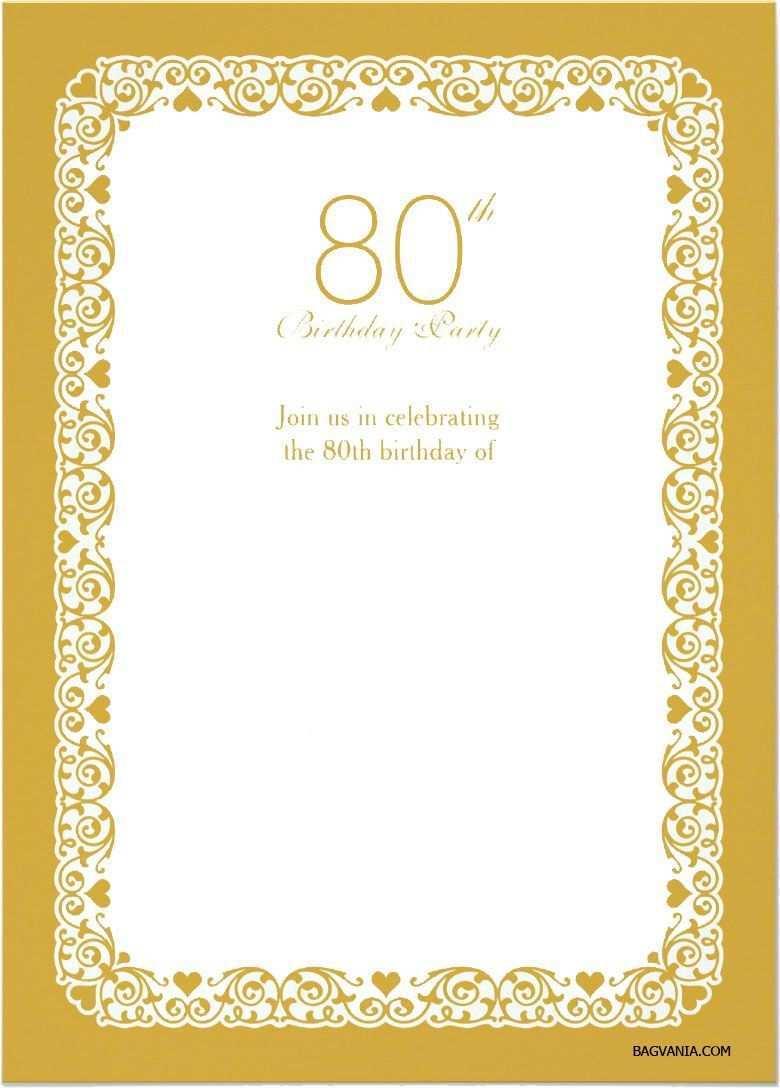 Einladungen Geburtstag Vorlagen Kostenlos Downloaden Einladung 80 Geburtstag Einladung 60 Geburtstag Geburtstag Einladung Vorlage