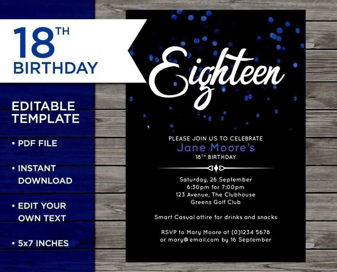 Einladungskarten Geburtstag Einladungen 18 Geburtstag Einladung Zum Geburtstag Einladung Zum Geburtstag