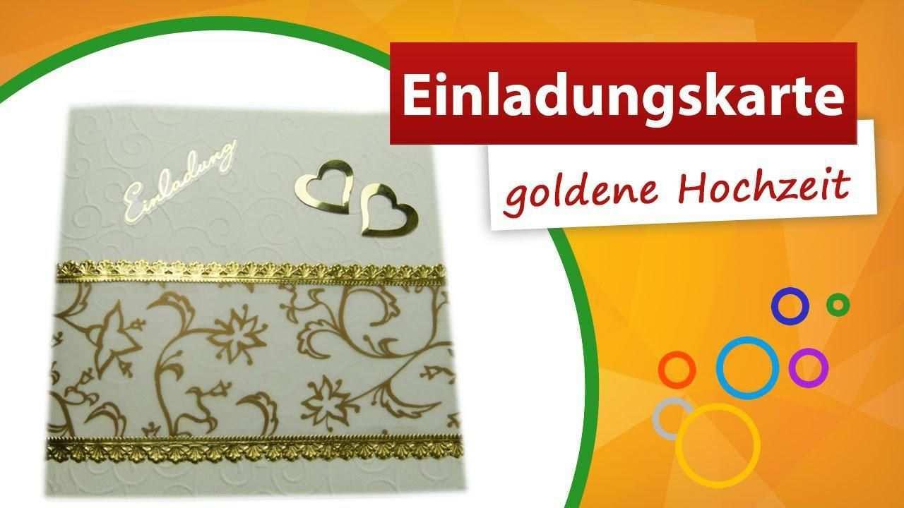 Einladungskarten Goldene Hochzeit Kostenlos Ausdrucken Einladungskarten Goldene Hochzeit Einladungskarten Hochzeit Einladung Goldene Hochzeit
