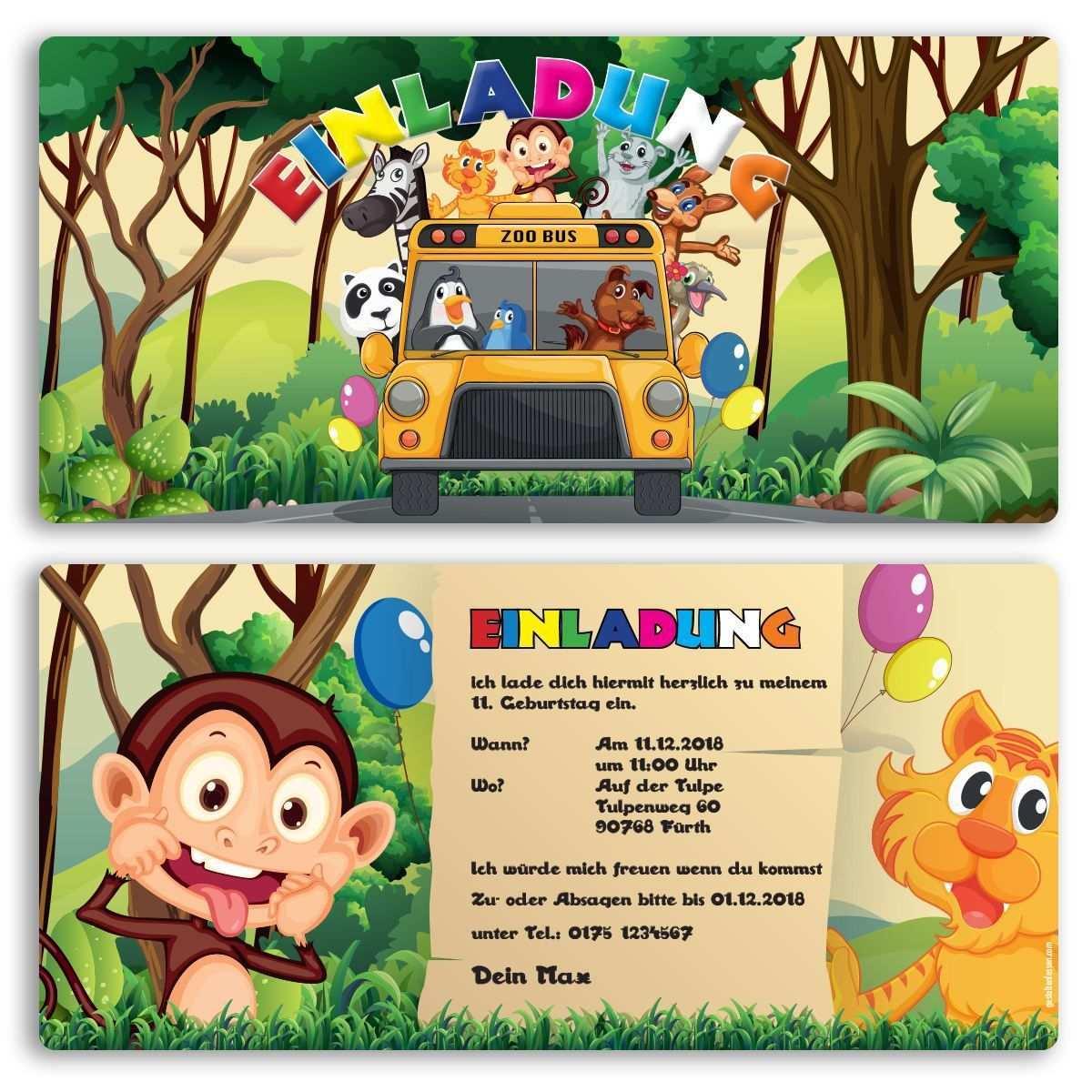 Pin Auf Einladungskarten Online