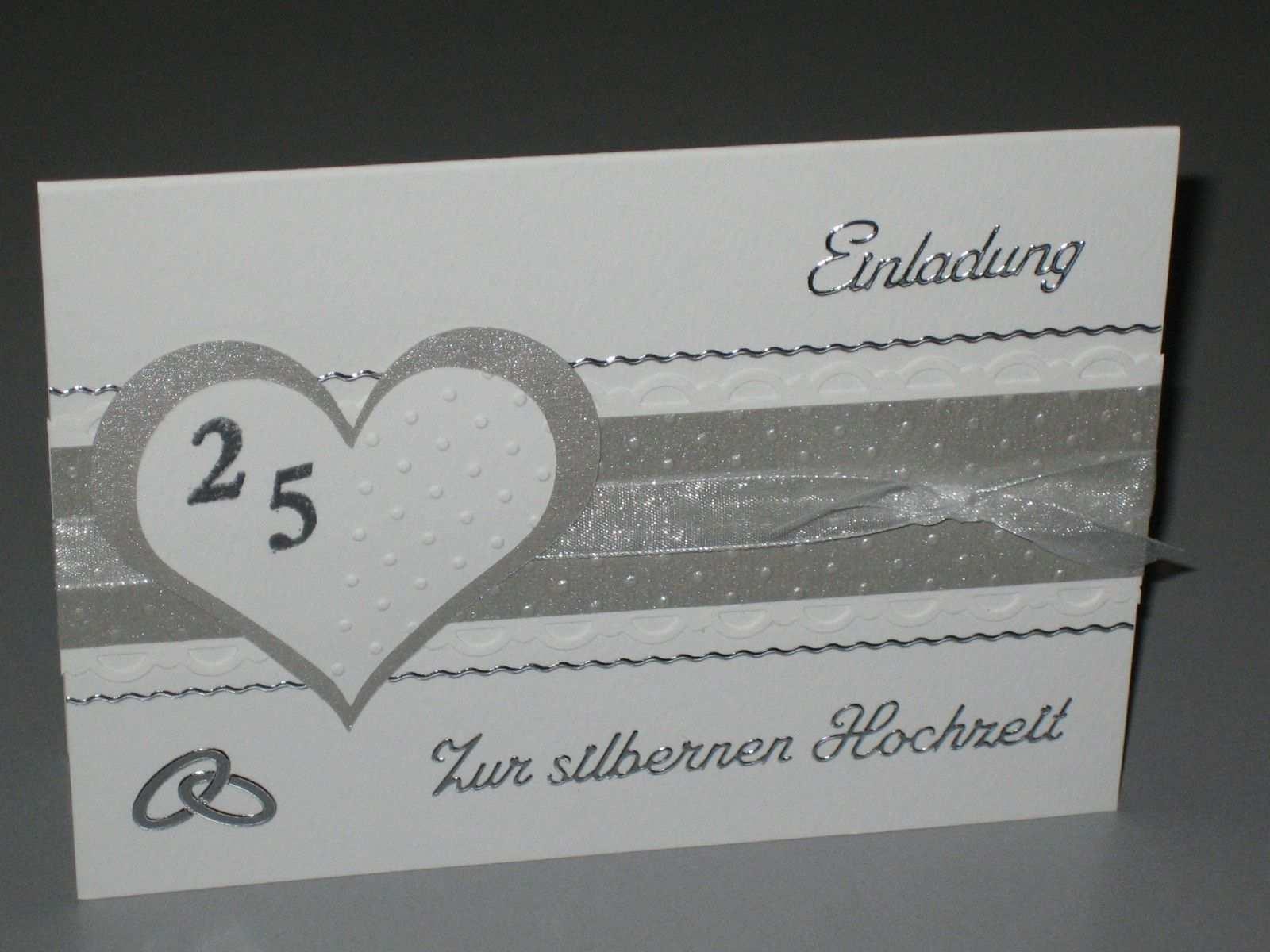 Einladungskarten Silberhochzeit Einladungskarten Silberhochzeit Einladung Silberhochzeit Einladungen