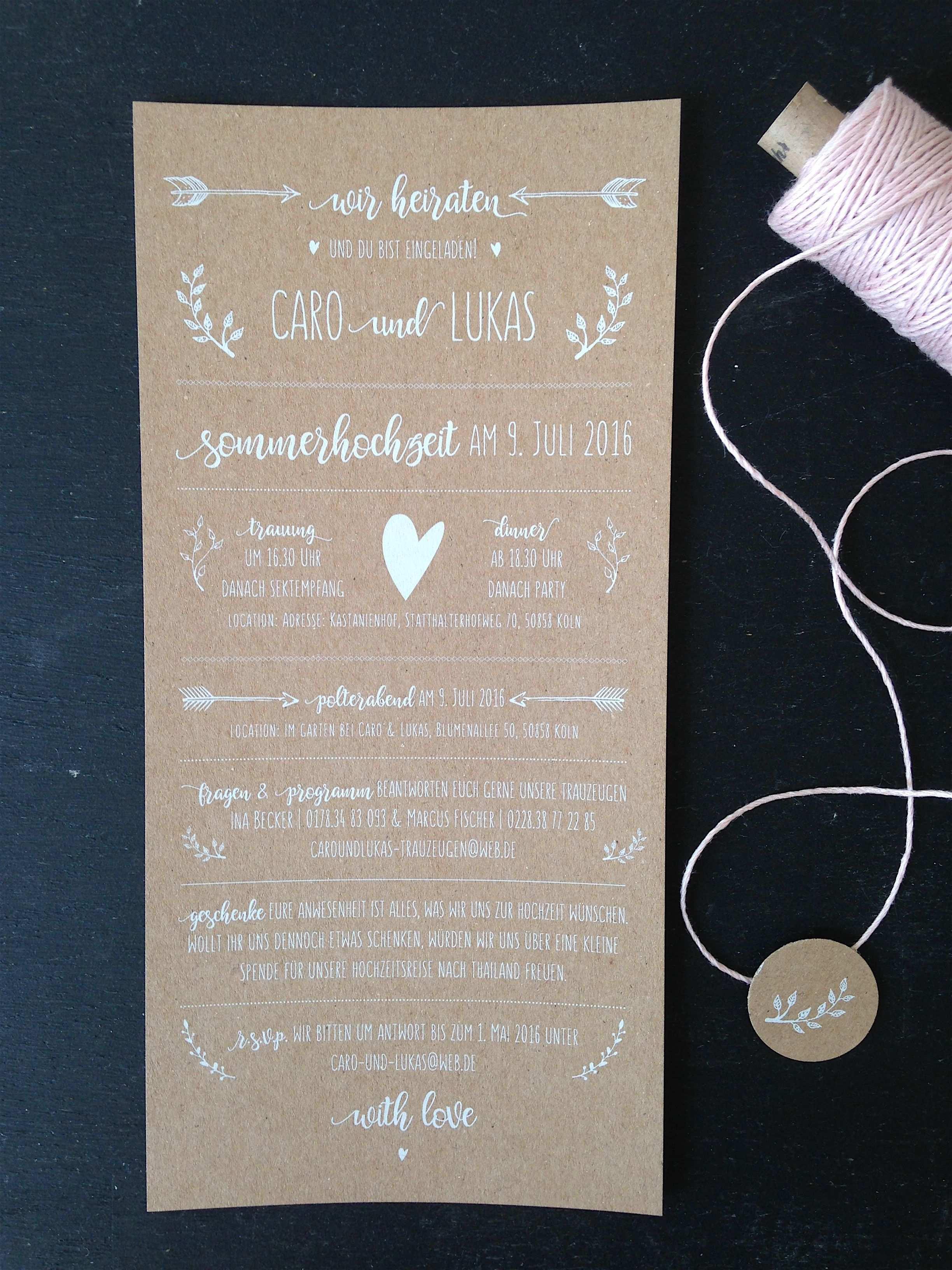 Hochzeitspapeterie Weiss Auf Kraftpapier Hochzeit Einladung Hochzeitseinladung Weissdruck Einladungskarten Hochzeit Hochzeitseinladung Einladungen Hochzeit
