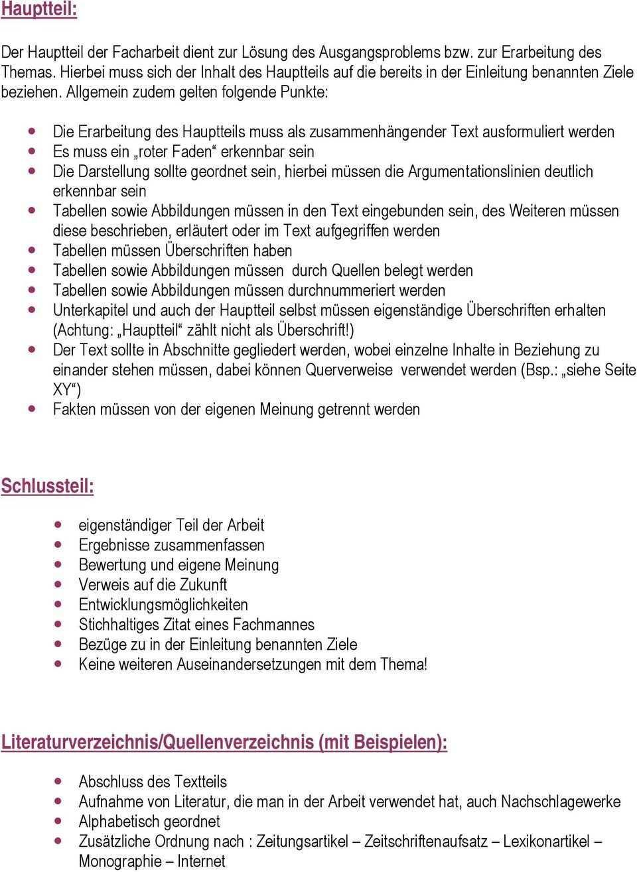 Facharbeit Layout Gliederung Aufbau Kontrolle Formulierungen Richtiges Zitieren Themenwahl Einleitung Vorwort Hauptteil Inhaltsverzeichnis Pdf Free Download
