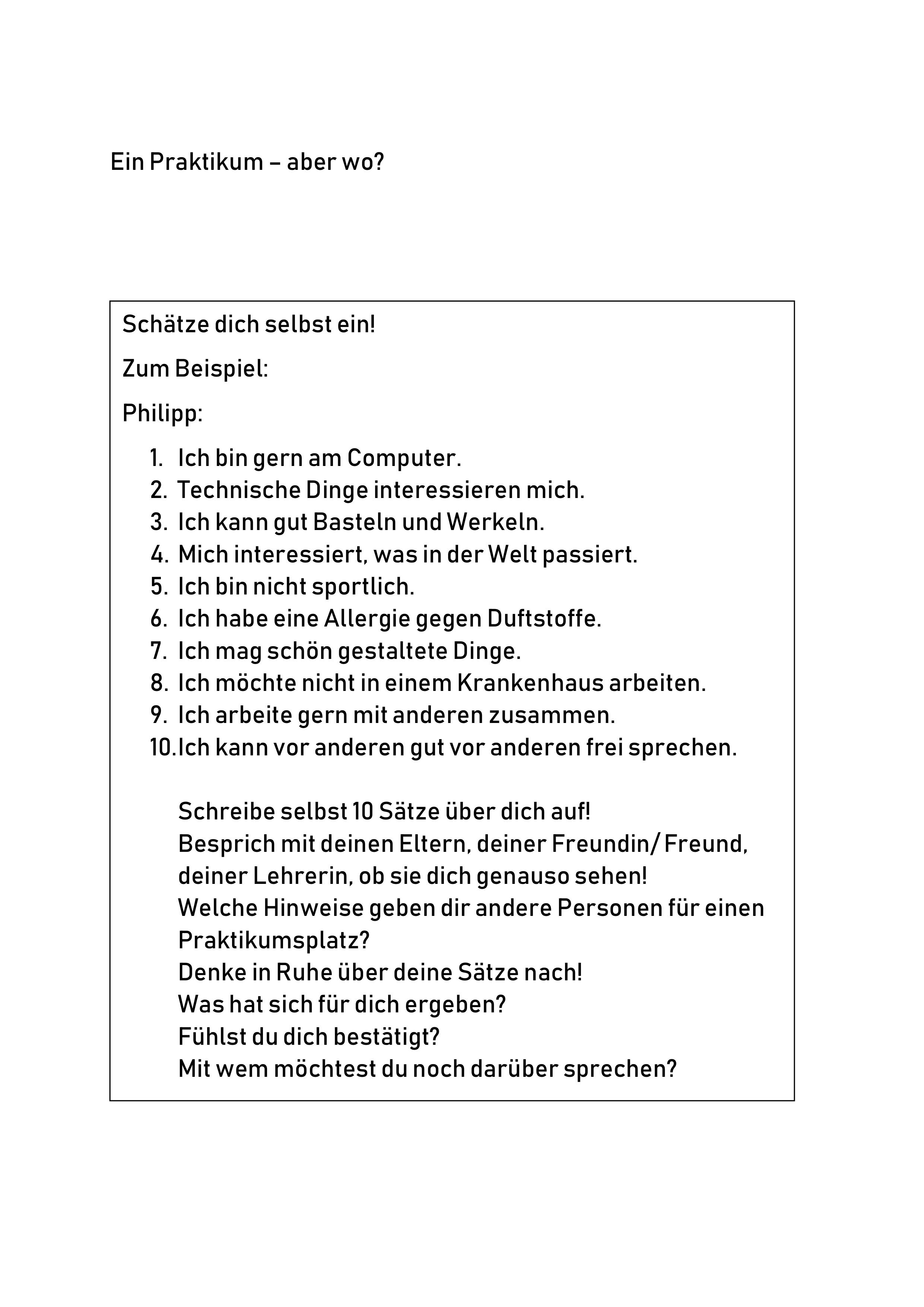 Bewerbung Um Einen Praktikumsplatz Leichte Sprache Unterrichtsmaterial In Den Fachern Arbeitslehre Deutsch Leichte Sprache Deutsch Unterricht Bewerbung