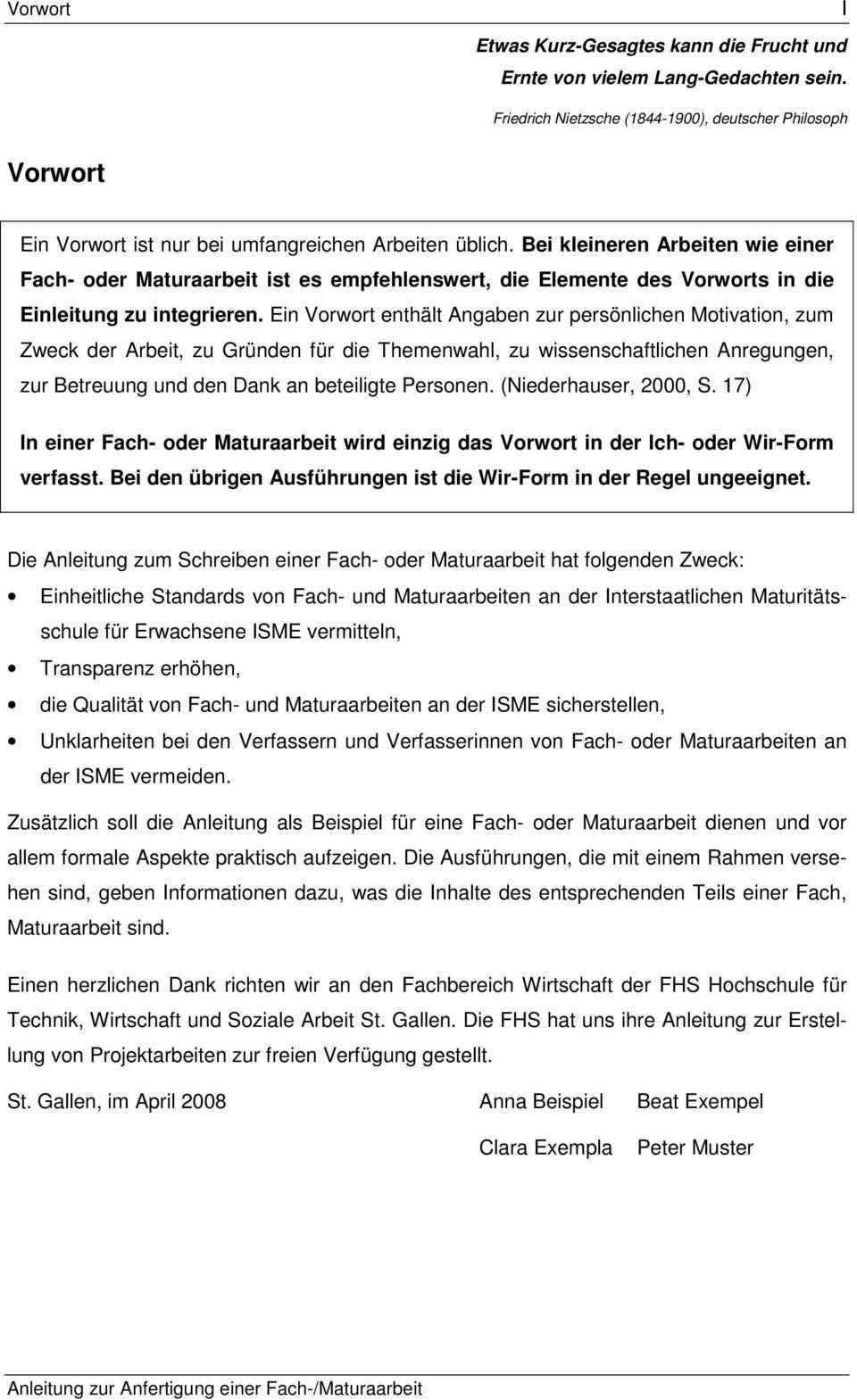 Anleitung Zum Schreiben Einer Fach Oder Maturaarbeit Pdf Free Download