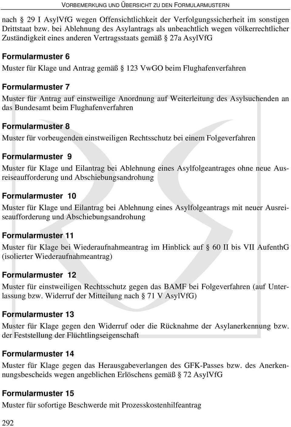 Vorbemerkung Und Ubersicht Zu Den Formularmustern Pdf Free Download