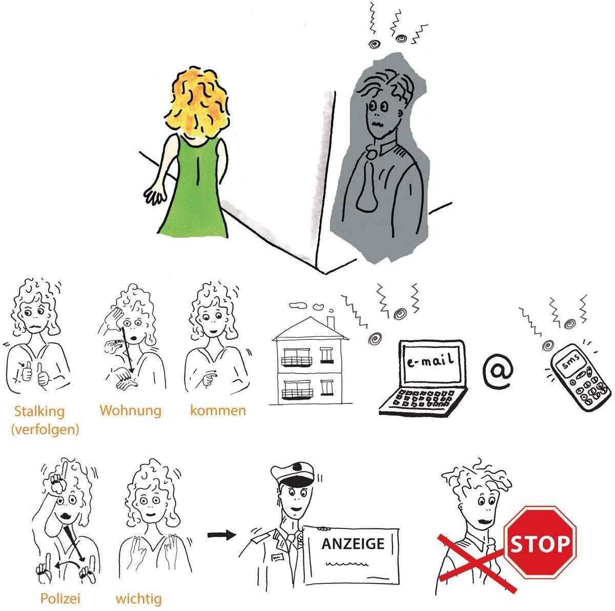 Schutz Gegen Stalking Schrei Gegen Gewalt