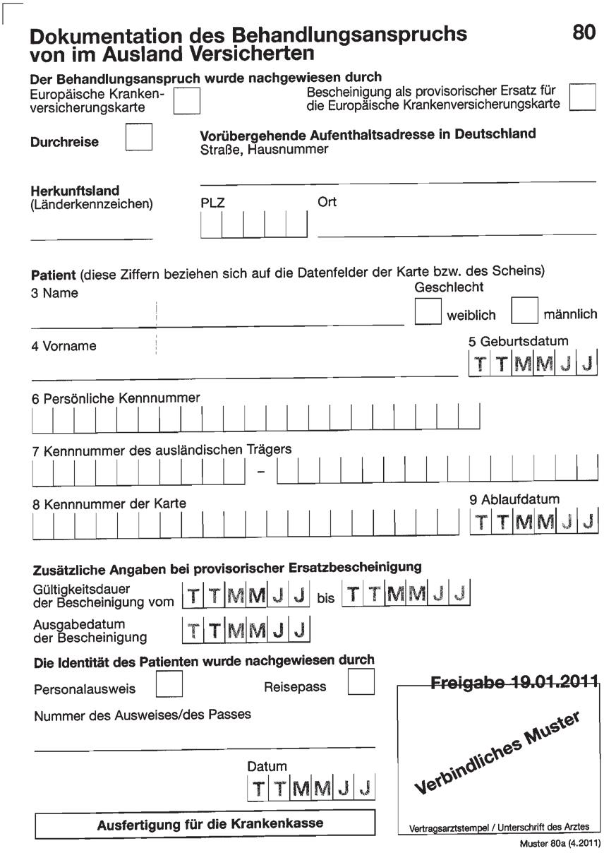 Patienten Aus Dem Ausland Eine Checkliste Zum Richtigen Abrechnen Pdf Free Download