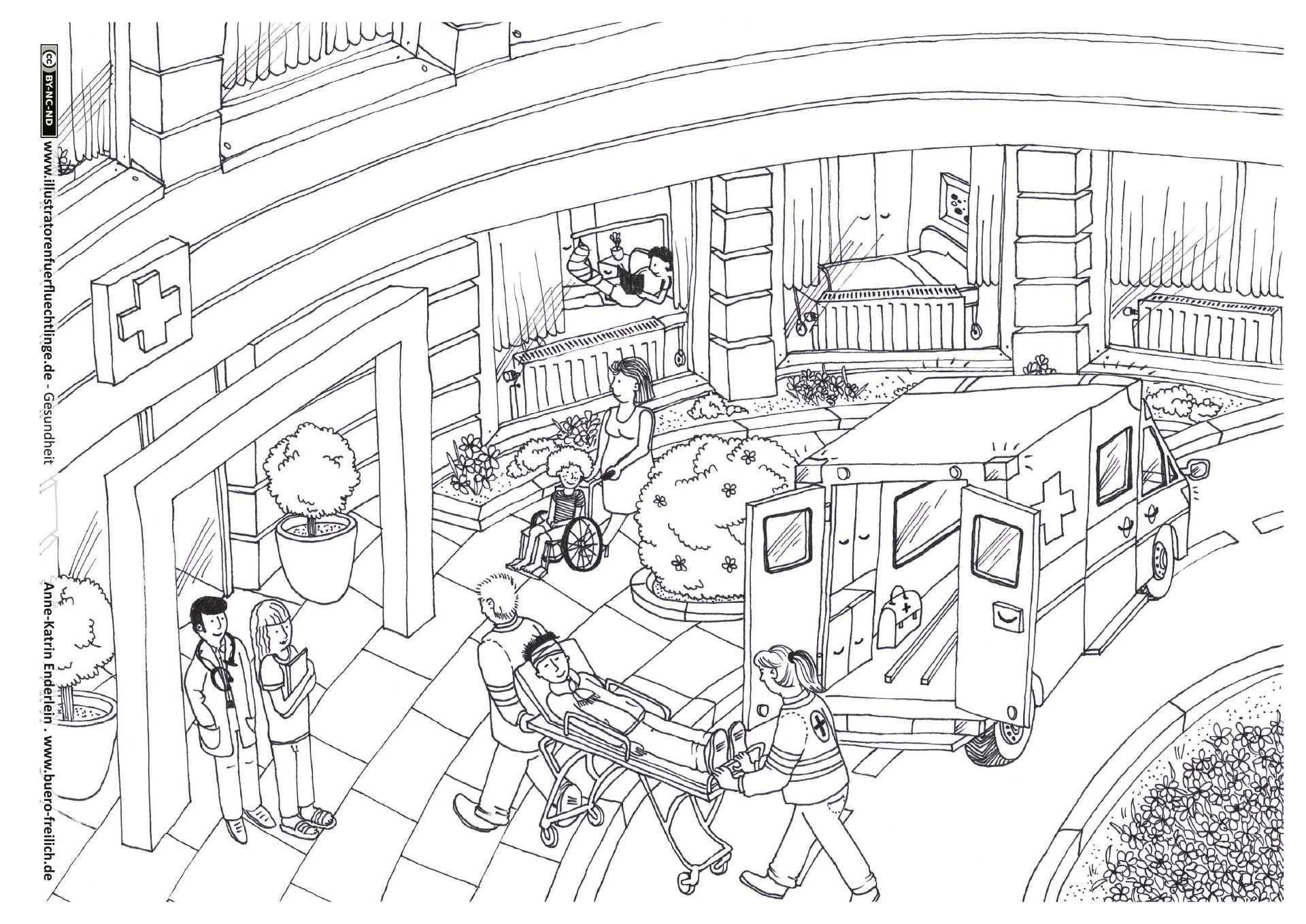 Download Als Pdf Gesundheit Krankenhaus Enderlein Krankenhaus Illustrator Gesundheit