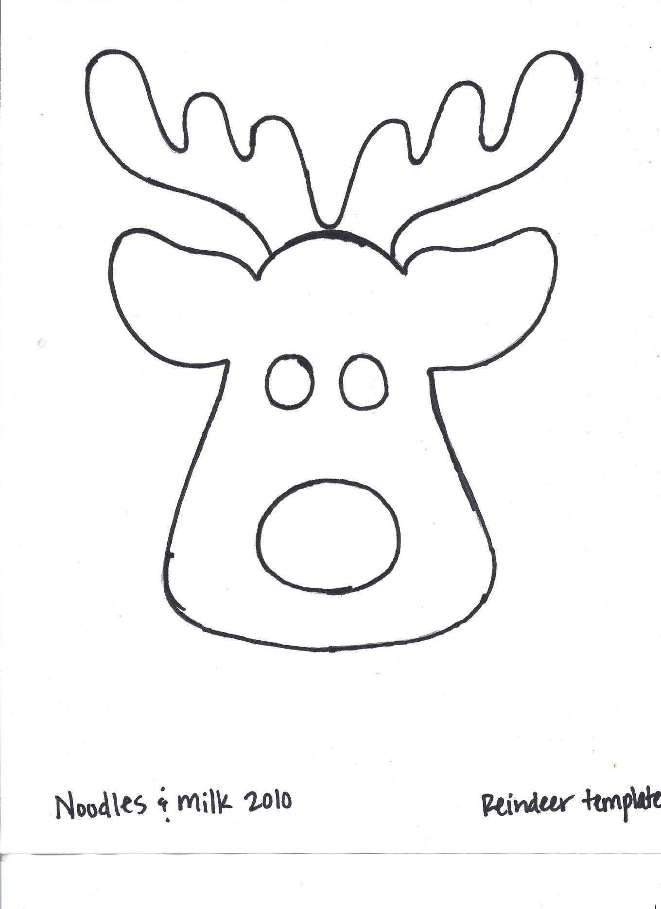 Reindeer Download 2 Scribd Weihnachten Basteln Vorlagen Nahen Weihnachten Basteln Weihnachten