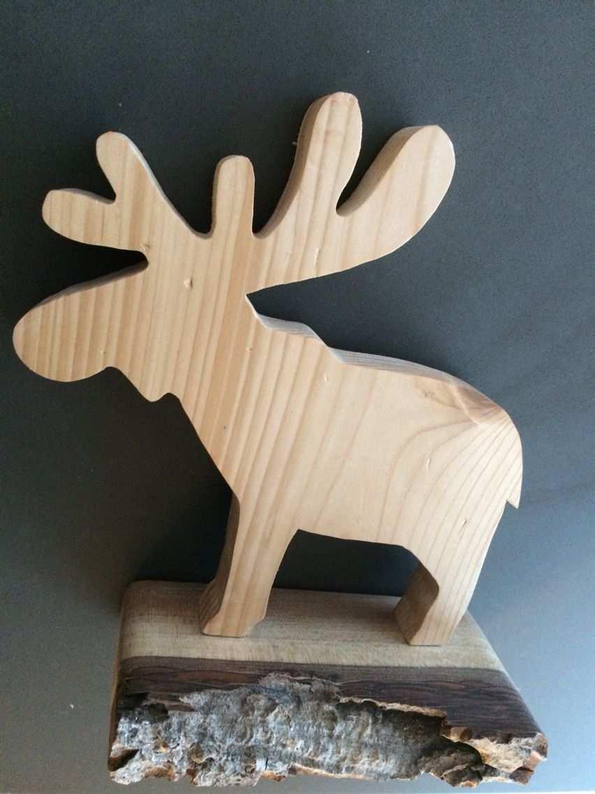 Elch Aus Holz Elch Holz Weihnachtsdeko