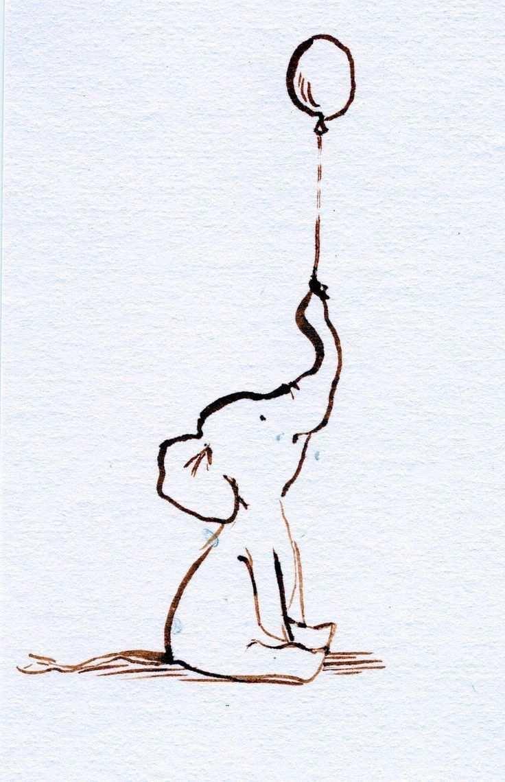 Pin By Laura Krewerth On Mine Baby Elephant Drawing Elephant Tattoos Elephant Sketch