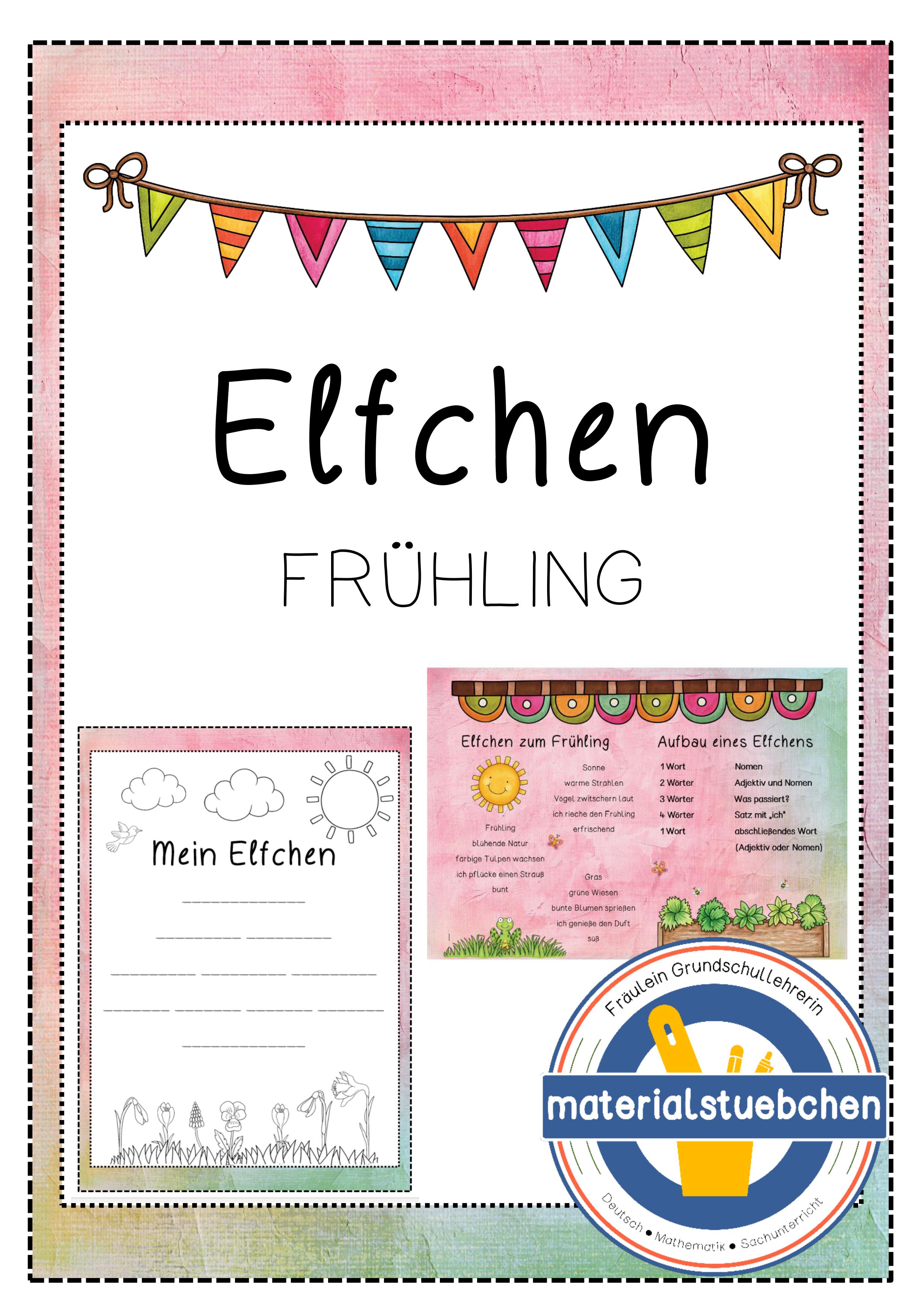 Elfchen Zum Fruhling Ideal Fur Homeschooling Unterrichtsmaterial In Den Fachern Deutsch Fachubergreifendes Elfchen Unterrichtsmaterial Bildung
