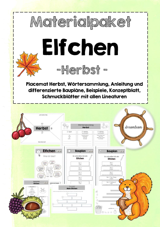 Gedichte Im Herbst Ein Elfchen Schreiben Unterrichtsmaterial In Den Fachern Deutsch Fachubergreifendes Elfchen Schreiben Elfchen Gedichte