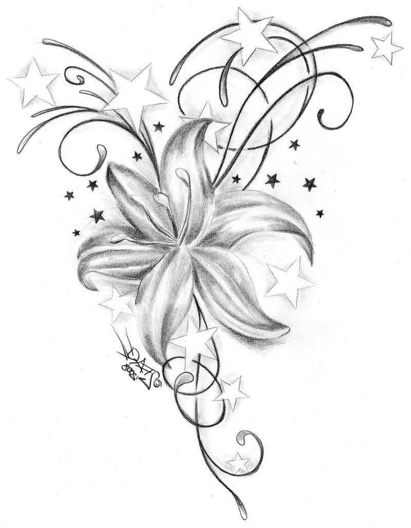 25 Erstaunliche Tattoovorlagen Kostenlos Zum Ausdrucken Tattoos Zenideen Lily Tattoo Meaning Star Tattoos Tattoos
