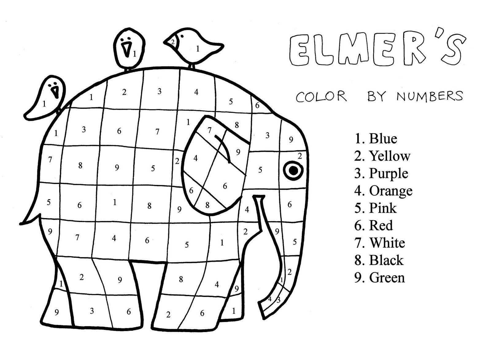 Elmer Teaches Us To Live In Peace Elmar Elefant Elefant Bilderbuch