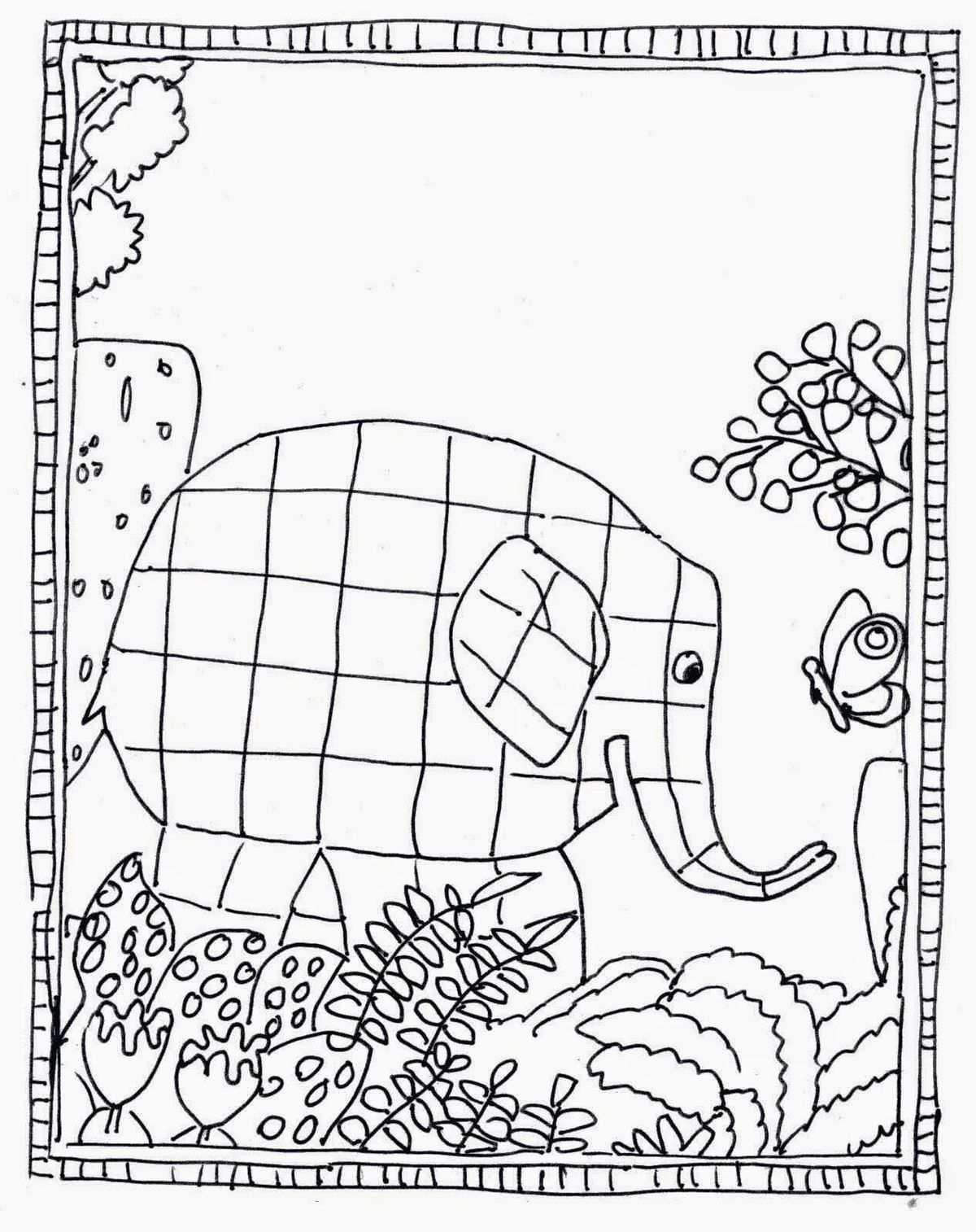 Mikapanteleon Pawakomastonhpiagwgeio Ta Xrwmata Sto Nhpiagw Childrens Books Activities Elmer Elmer The Elephants