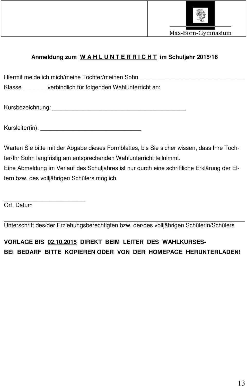 1 Infobrief Schuljahr 2015 16 Germering 14 September Sehr Geehrte Eltern Liebe Schulerinnen Und Schuler Pdf Free Download
