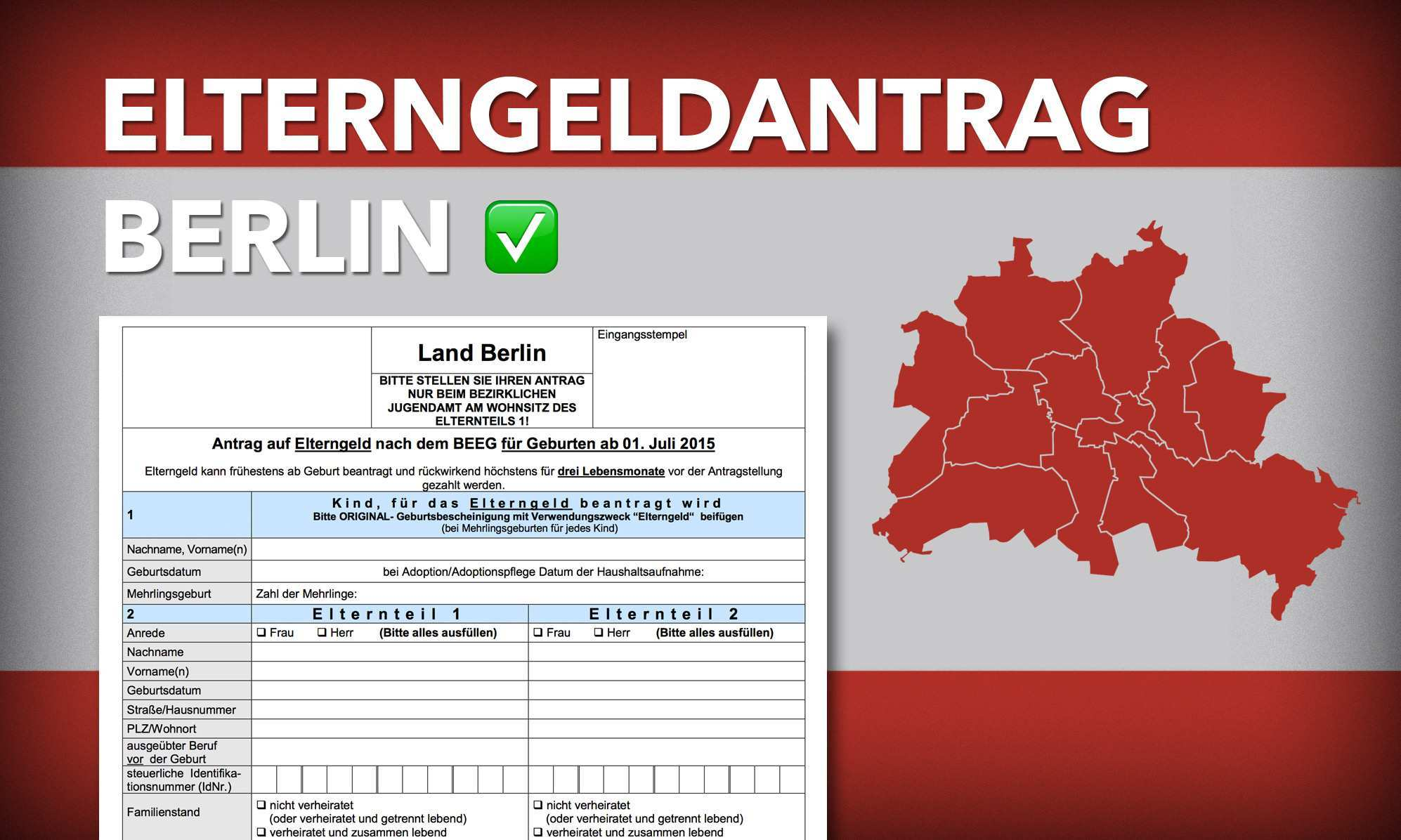 Elterngeldantrag Berlin 2021 Download Hilfe Tipps Fur Mehr Elterngeld